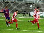 برشلونة ضد أتلتيكو مدريد.. موراتا يتعادل للروخى بلانكوس من ركلة جزاء بالدقيقة 81