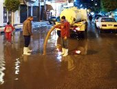 لو فى شارعك تراكمات مياه أمطار.. اعرف إزاى تبعت شكوى للتنمية المحلية