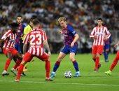 ملخص وأهداف مباراة برشلونة ضد اتلتيكو مدريد فى السوبر الإسباني