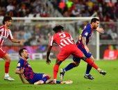 أتلتيكو مدريد يقصى برشلونة من السوبر الإسباني ويواجه الريال فى النهائي