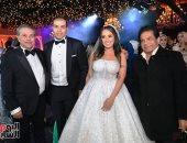 فيديو وصور.. الإعلامى توفيق عكاشة يحتفل بزفاف نجله