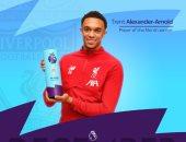 أرنولد نجم ليفربول يتوج بجائزة لاعب الشهر فى الدوري الإنجليزي