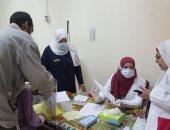 """صور.. صحة القليوبية: الكشف على 1116 مريضا بقافلة طبية فى """"الجعافرة"""""""
