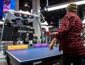روبوت يلعب تنس الطاولة ويمكنه أن يخسر من أجلك عندما تشعر بالإحباط