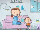 فيديو.. نصائح لحماية الأطفال من محتوي غير مناسب.. والسن المناسب للعب بهاتف محمول