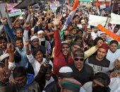 تواصل الاحتجاجات الحاشدة فى الهند ضد قانون الجنسية