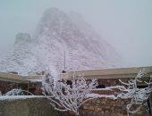 طقس سانت كاترين.. الحرارة تسجل صفرا بالـ 48 ساعة المقبلة والثلوج تزين القمم