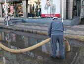 استمرار أعمال رفع تجمعات مياه الأمطار بمدن القليوبية ورفع حالة الطوارئ