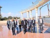 محافظ المنيا يتفقد عدد من المشروعات لبحث تطويرها.. صور