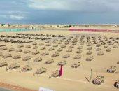 صحيفة إيطالية تبرز افتتاح السيسي لقاعدة برنيس: تحمى الشواطئ الجنوبية
