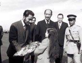 ذكريات السلطان.. صورة نادرة لزيارة قابوس بن سعيد للقاهرة آواخر السبعينيات