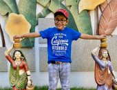 حالة نادرة لطفل هندى استعاد البصر بعد اصابته بالعمى نتيجة سرطان الدم