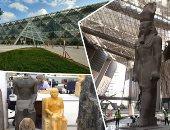 كم عدد القطع الأثرية التى وصلت للمتحف الكبير حتى الآن؟