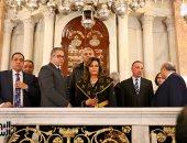 فيديو وصور.. لحظة افتتاح المحراب المقدس بالمعبد اليهودى فى الإسكندرية