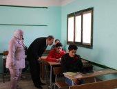 محافظ كفر الشيخ ووكيل التعليم يتفقدان اللجان وأداء الطلاب امتحانات التابلت في 82 مدرسة