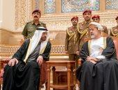 صور.. الشيخ محمد بن زايد يقدم العزاء فى وفاة السلطان قابوس بسلطنة عمان
