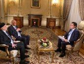 """رئيسا مجلس النواب المصرى والليبى ضيفا خالد أبو بكر فى برنامج """"كل يوم"""""""