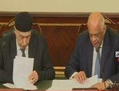 شاهد أبرز تصريحات على عبد العال بجلسة البرلمان فى حضور رئيس النواب الليبى
