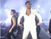 محمد رمضان فى فيديو جديد من حفل دبى: الحمد لله على تفاعل الجمهور