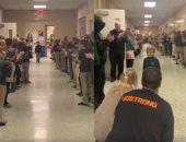 فيديو مؤثر للحظة عودة طفل أمريكى لمدرسته محاربته 3 سنوات لسرطان الدم
