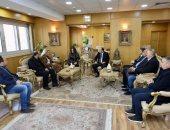 محافظ دمياط تبحث مع رئيس الغرفة التجارية الرومانية المصرية ببوخارست تسويق الأثاث