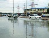 الأمطار تسجل نسبة غير مسبوقة فى الإمارات منذ عام 1996 بواقع 144 ملم.. صور