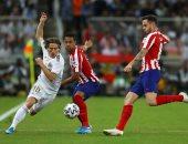 الريال ضد أتلتيكو مدريد.. شوط أول سلبي في نهائي السوبر الإسباني