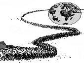 """كاريكاتير صحفية عمانية.. الحزن يسيطر على الجميع بسبب رحيل """"قابوس"""""""