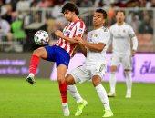 الريال ضد أتلتيكو مدريد.. الملكي يخطف لقب السوبر الإسباني من السعودية
