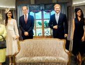 متحف مدام توسو بسيدنى يعلن عدم إزالة تمثالى هارى وميجان الشمعيين