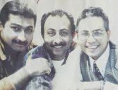 محمد رياض يستعيد ذكرياته مع ياسر جلال بصورة من عمل فنى قديم