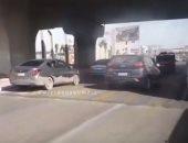 فيديو.. انسياب مروري بميدان جهينة بمدينة 6 أكتوبر وسيولة فى حركة السيارات