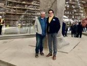 """فاروق حسنى: """"استفزنى سؤال مهندس فرنسى ففكرت فى إنشاء المتحف الكبير"""" ..فيديو"""
