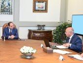الرئيس السيسى يستعرض مع كامل الوزير جهود تحديث منظومة النقل فى مصر
