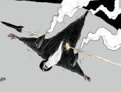 كاريكاتير صحيفة سعودية.. إيران تعترف بضربها للطائرة الأوكرانية