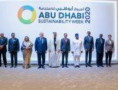 محمد بن زايد يشهد افتتاح فاعليات أسبوع أبو ظبى للاستدامة