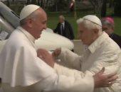 كتاب جديد لبابا الفاتيكان السابق يؤكد معارضته إنهاء عزوبية القساوسة.. فيديو