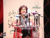 وزيرة الثقافة من الملتقى الدولى للشعر العربى: رفع قيمة الجائزة إلى 200 ألف جنيه