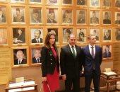 سيلمان وهدان لنائب رئيس البرلمان السلوفاكى: مصر أحدثت طفرة بمجال الإصلاح الاقتصادى