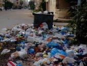 تراكم القمامة بمنطقة 6 أكتوبر بالعجمي فى الإسكندرية.. والأهالى تستغيث