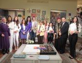 صور.. DMC تحتفل بعيد ميلادها الثالث بحضور مذيعيها