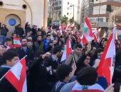 الأمن اللبنانى ينفى حرقه لخيام المعتصمين ببيروت