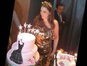 10 صور جديدة من حفل عيد ميلاد درة بحضور أصدقائها ونجوم الفن