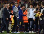 كيكي سيتين.. هدفين و6 انتصارات كلاعب ومدرب ضد برشلونة