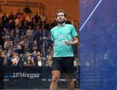 كريم عبد الجواد ينسحب من بطولة قطر كلاسيك للاسكواش بسبب الإصابة