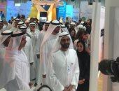 الشيخ محمد بن راشد يتفقد معرض ومؤتمر أبوظبى للاستدامة