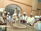 """البابا تواضروس يدشن ثلاثة كنائس صغيرة بكاتدرائية """"أبو فام"""" بطما.. صور"""