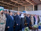 الرئيس السيسى يصل مركز القيادة الاستراتيجية فى قاعدة برنيس البحرية