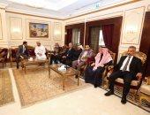 سفارة سلطنة عمان بالقاهرة تستقبل المعزين فى وفاة السلطان قابوس