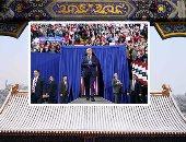صور.. العالم هذا الصباح.. دعاية مكثفة لمرشحى الرئاسة فى الولايات المتحدة الأمريكية.. تصميمات مميزة فى أسبوع الموضة فى برلين.. والثلوج تغطى القصر الصيفى فى بكين